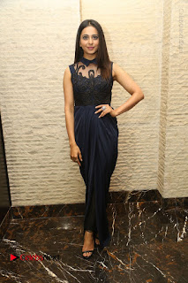 Actress Rakul Preet Singh Stills in Beautiful Blue Long Dress at Dhruva Salute to Audience Event  0090.JPG