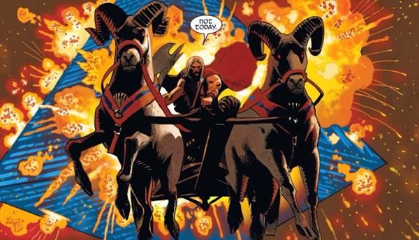 Peralatan dan Senjata Thor, Sang Dewa Petir