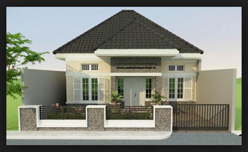 desain rumah minimalis atap asbes