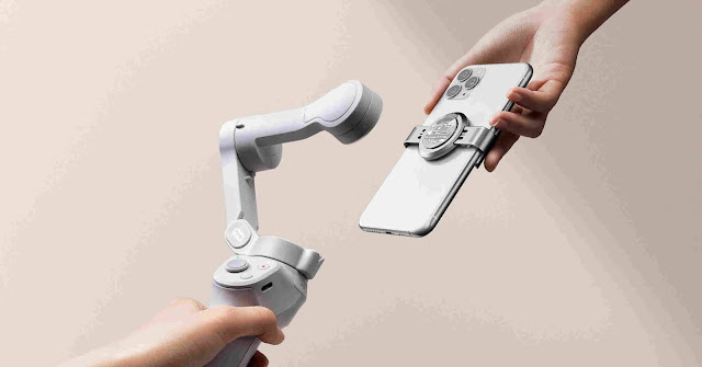 DJI presenta OM4, il nuovo stabilizzatore per smartphone