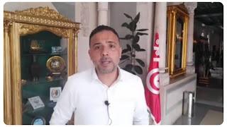 بالفيديو سيف الدين مخلوف يهدد الاعلاميين و شعب تونسي على المباشر