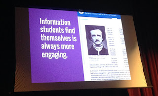 Information students find themselves is always more engaging.