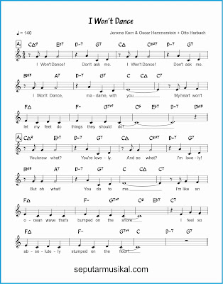 i won't dance 1 lagu jazz standar