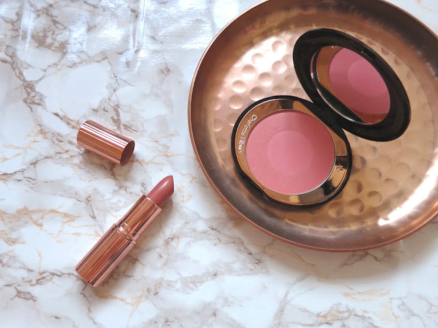 Charlotte Tilbury Haul Bitch Perfect Lipstick & Cheek To Chic Swish & Pop Blusher