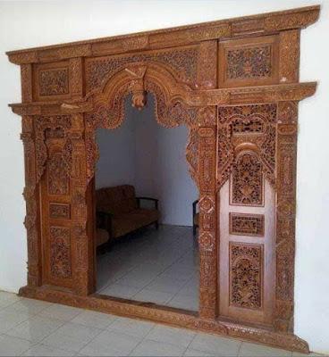 model pintu ukir