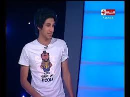 """أول ظهور إعلامي لنجل النجم \ حسام حسني """" لاعب نادي الزمالك """""""