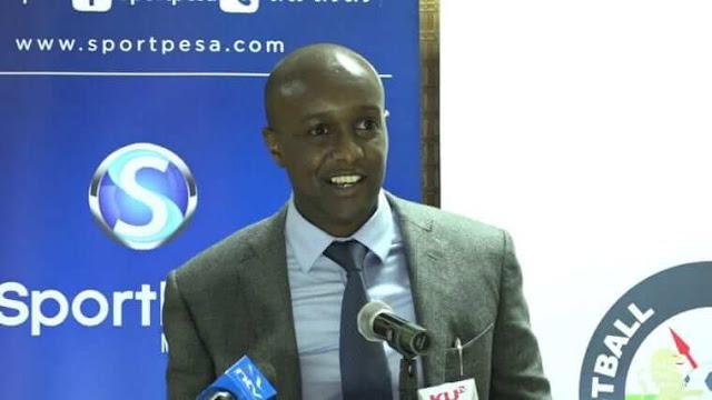 Ronald Karauri celebrate sportpesa revamp