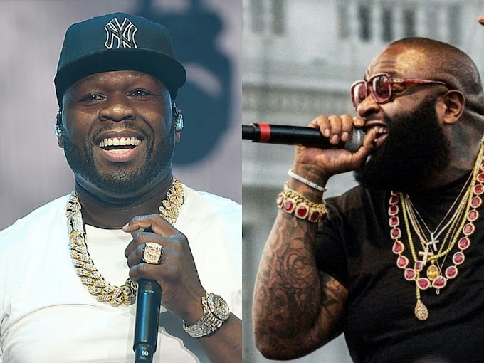 Watch: 50 Cent Spices Rick Ross as Talented Rapper Despite Beef