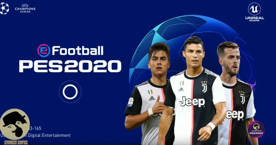 EFootball PES 2020 Mobile STS Uefa Champions Legaue V4.1.1