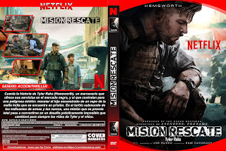 CARATULA MISION RESCATE - TYLER RAKE -EXTRACTION - OUT OF THE FIRE 2020[COVER DVD]