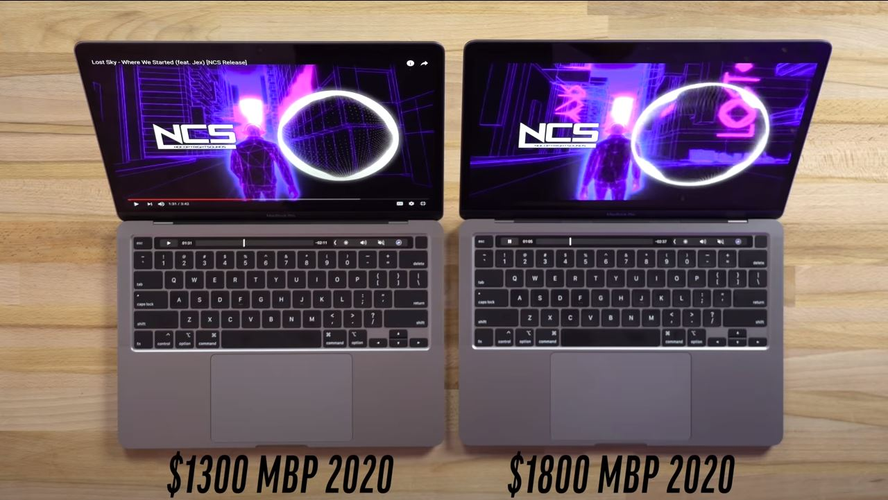 New MacBook Pro 13 for $ 1,300 and $ 1,800 - these are very different laptops