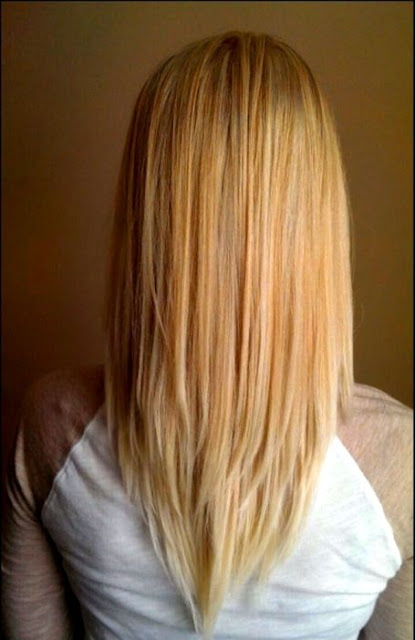 V-Shape Layers Medium-Length Hairstyle - Medium Length Hairstyle and Haircuts For Women
