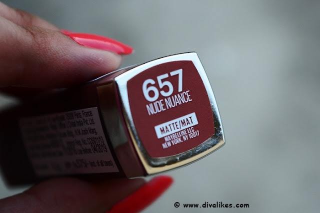 Maybelline Color Sensational Creamy Matte Lip Color Nude Nuance Shade