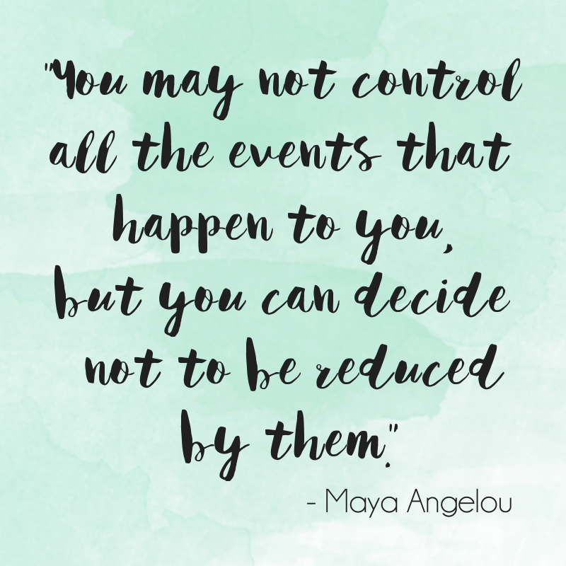 graphic maya angelou quote motivational monday watercolor