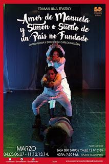 Obra AMOR DE MANUELA Y SIMON | Teatro Sala Seki Sano