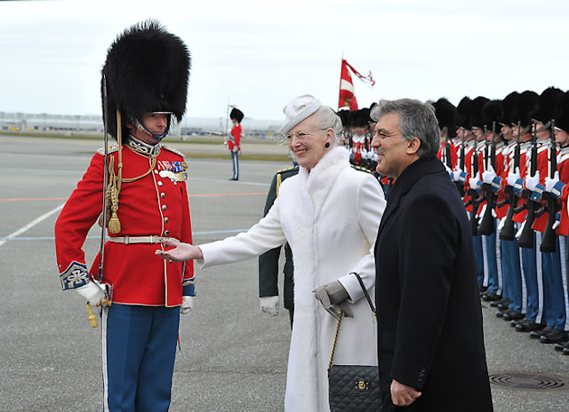 President Abdullah Gül, accompanied by First Lady Hayrünnisa Gül, has arrived in Denmark to pay a state visit at the invitation of Her Majesty Queen Margrethe II.