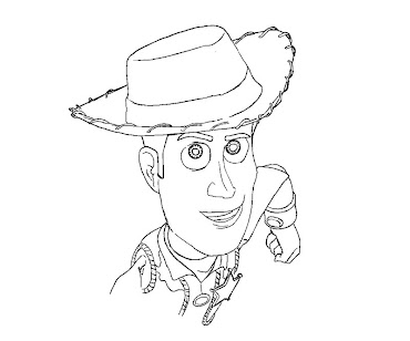 4 toy story coloring page