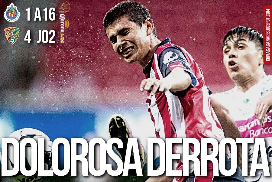 Copa MX : CD Guadalajara 1-4 Chiapas FC - Apertura 2016 - Jornada 2.