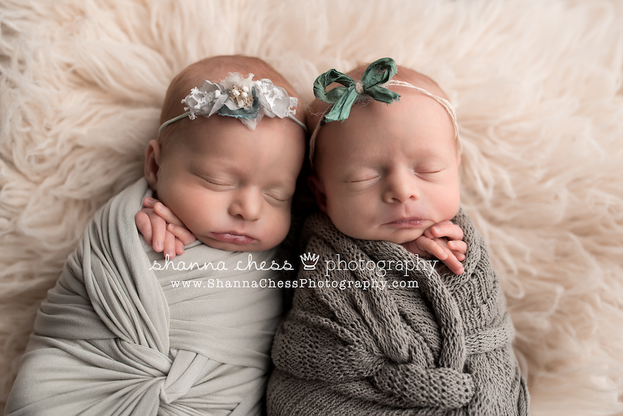 eugene oregon twin baby photographer
