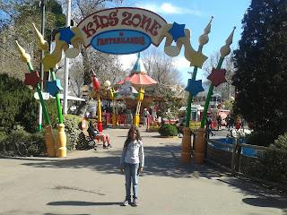 Fantasilandia parque criança