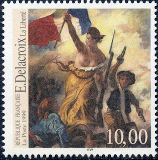 France Eugene Delacroix Painting