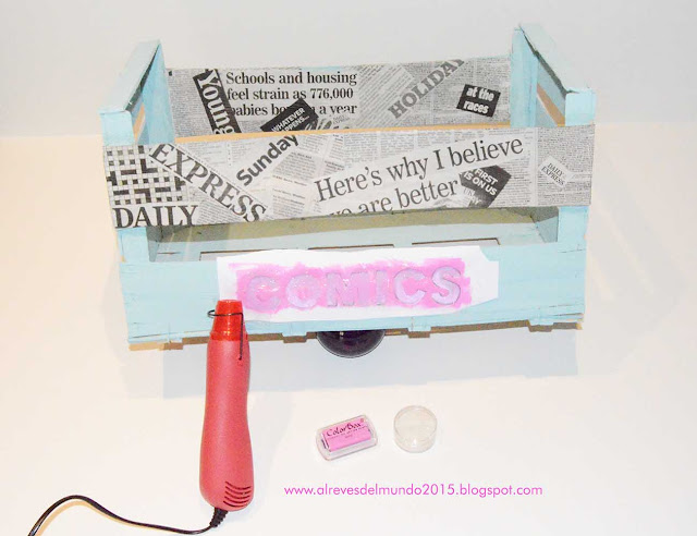 manualidades decoracion caja