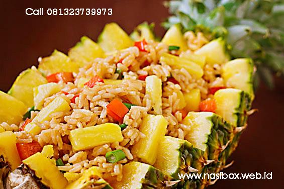 Resep nasi goreng nanas nasi box kawah putih ciwidey