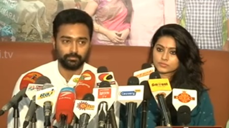Live: Actor Prasanna and Sneha provide financial aid to 10 farmers