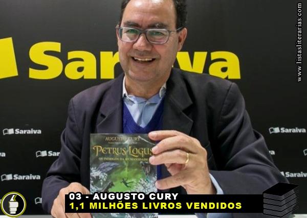MV 3 - 10 Escritores brasileiros que mais venderam livros nesta década
