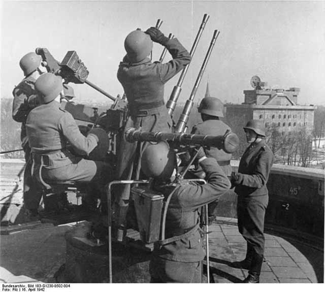The Berlin Zoo Flak Tower on 16 April 1942 worldwartwo.filminspector.com