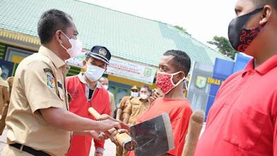 KEREN, Darma Wijaya Bentuk Pasukan Merah untuk Bersihkan Lingkungan di Sergai