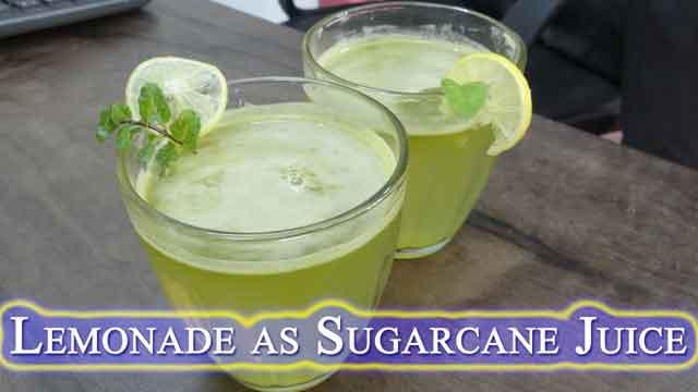 without sugarcane ganne ka juice kaise banayen