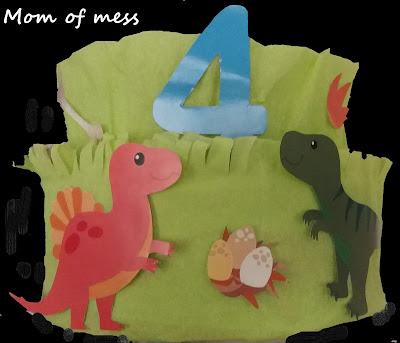 παρτυ δεινοσαυροι τουρτα