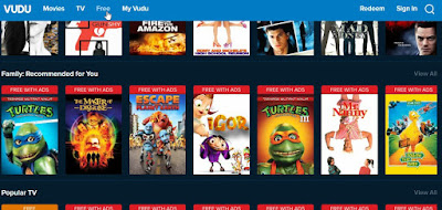 how watch free movies and tv shows on Vudu without paying any money