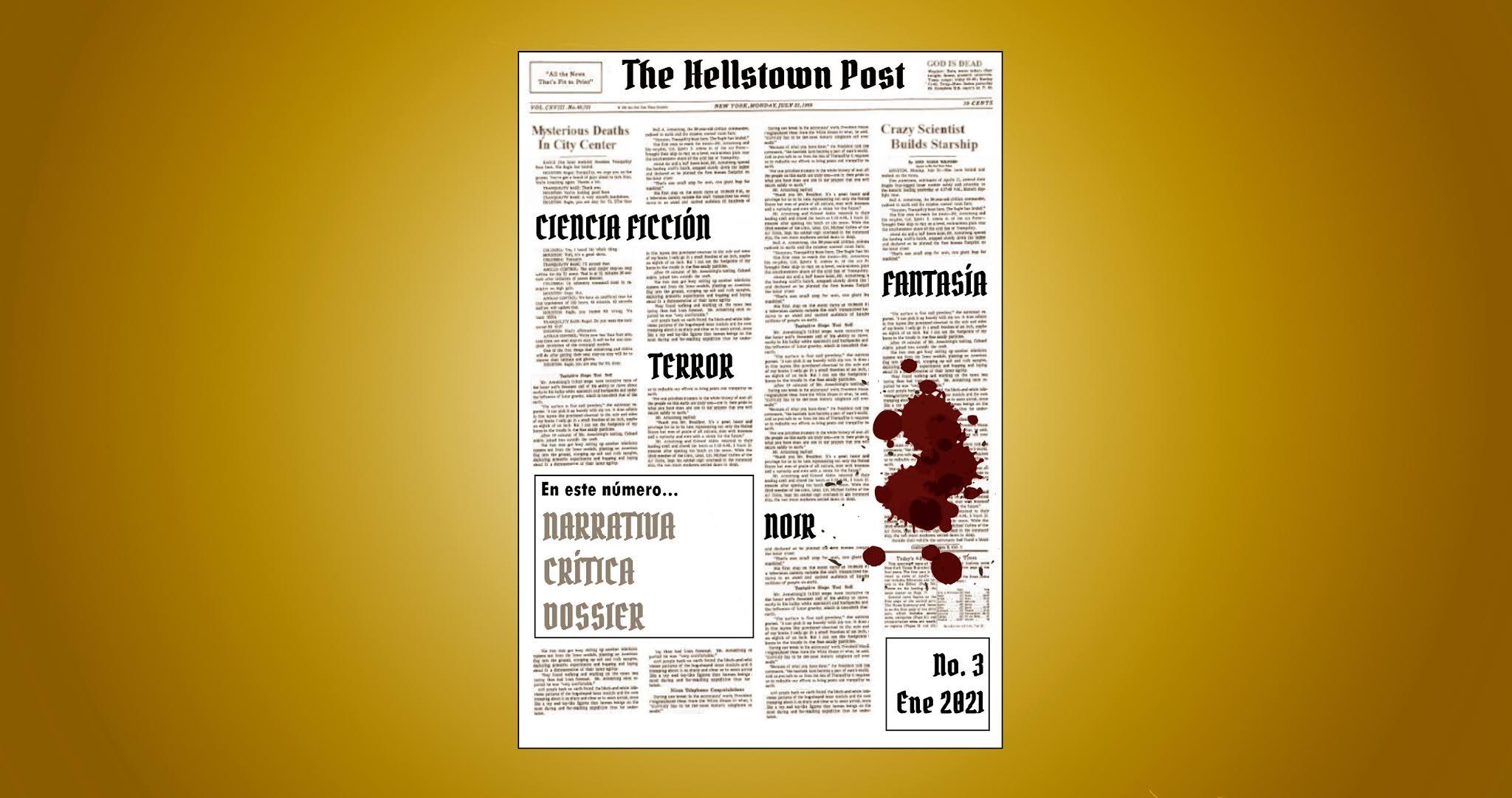 The Hellstown Post | Revista de literatura fantástica, de terror y ci-fi.