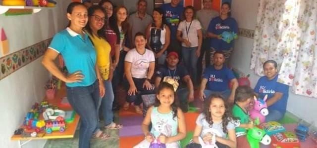 Escola de Porto Franco recebe doação de uma brinquedoteca!!!