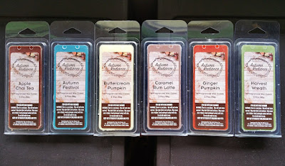 Big Lots Living Colors Fall 2017 Autumn Radiance Wax Melts