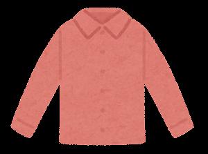 シャツのイラスト(赤)