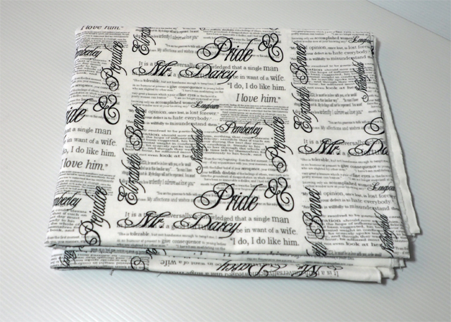 Pride and Prejudice, by eSheep Designs, Spoonflower