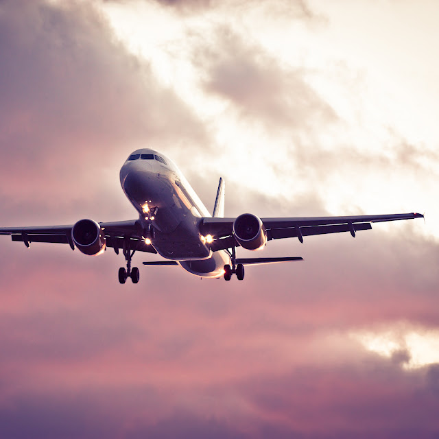 Volar en avión con niños