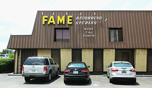 FAME Recording Studios Muscle Shoals Alabama