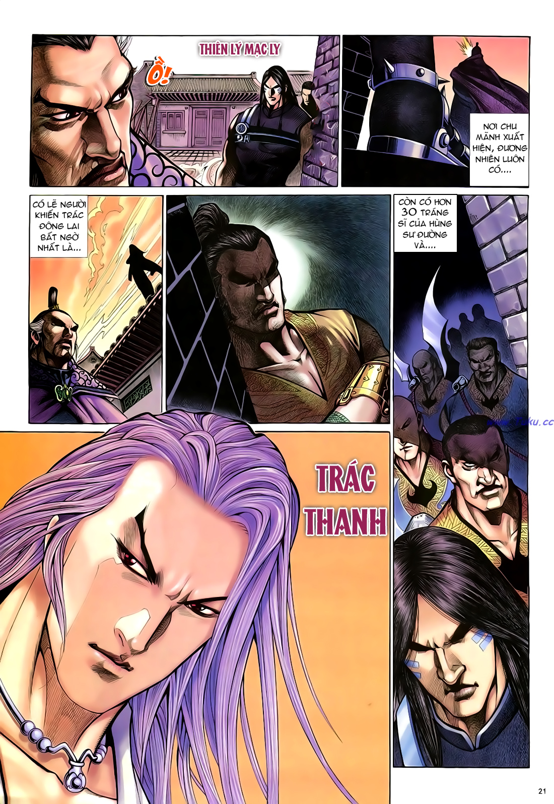 Anh hùng vô lệ Chap 21 trang 22