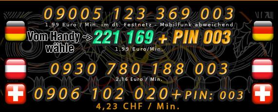 Telefonsex Frauen die auf Analsex stehen - Nummern für Deutschland, Österreich und Schweiz