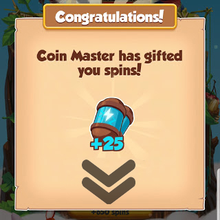 Coin master 25 free spin and coin links