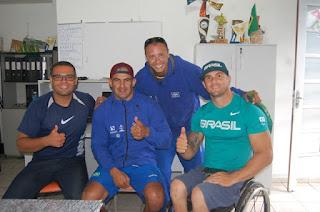 Atletas de elite da paracanoagem nacional treinam na Ilha rumo ao mundial da Hungria, em agosto