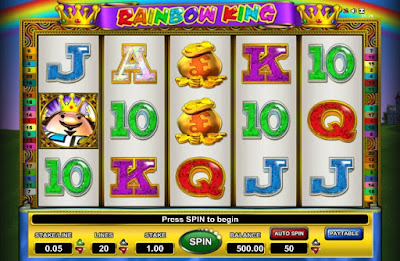 play rainbow king slot for free