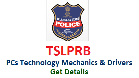 tslprb-constables-technology-mechanics-drivers-eligibility-exam-pattern-selection-procedure-apply-online