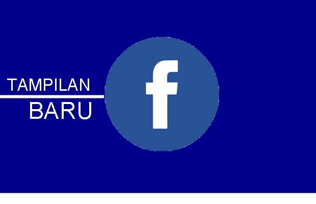 tampilan facebook baru