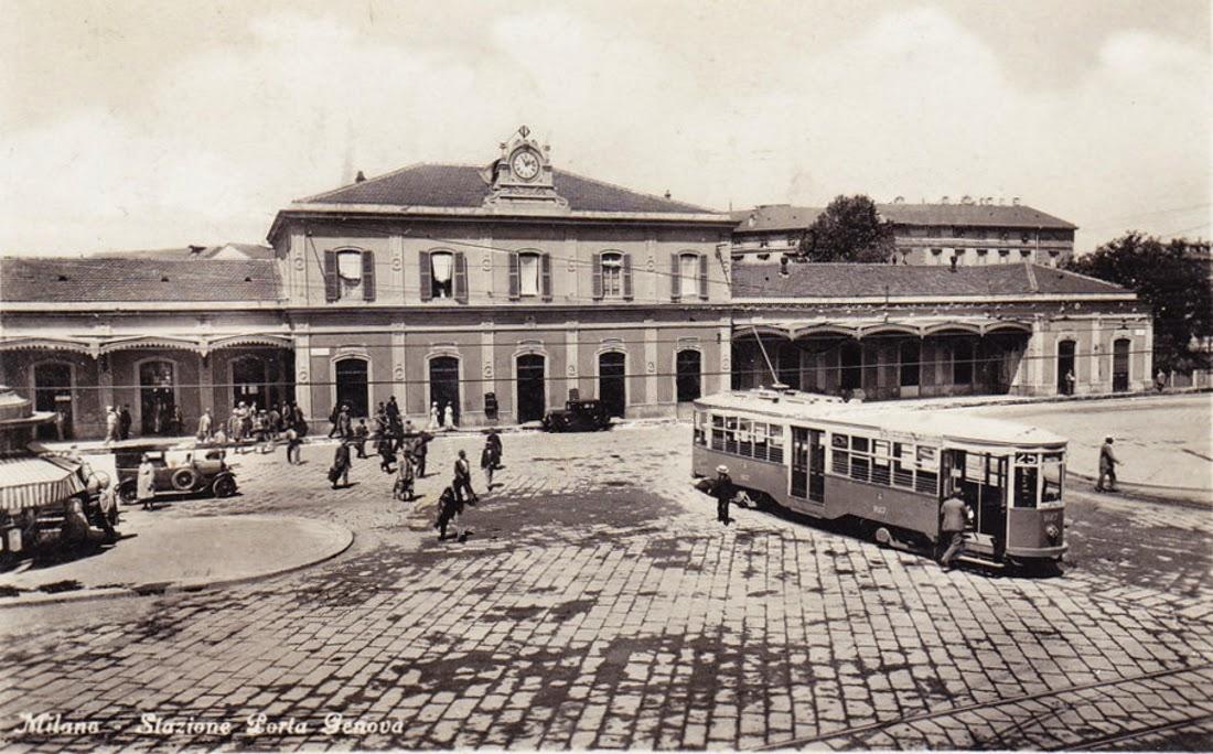 Milanoneisecoli quando la ferrovia circondava la zona - Pavia porta garibaldi ...