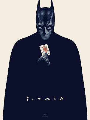 Batman (Special Edition) Screen Print by Grzegorz Domaradski x French Paper Art Club
